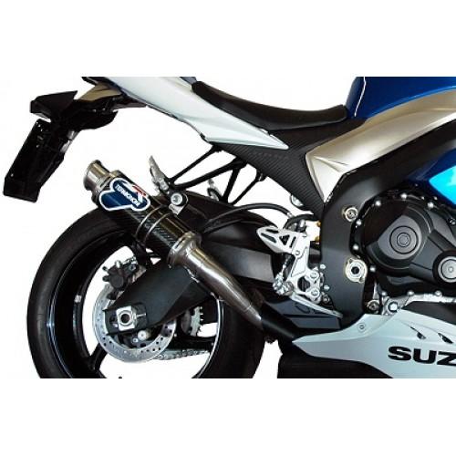 Termignoni Stainless Steel Carbon Exhaust For Suzuki GSX-R1000 2010 Part #S062080CR