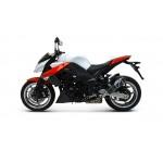 Termignoni Stainless Steel Carbon Exhaust For Kawasaki Z1000 2010-2014 Part # K066080CC