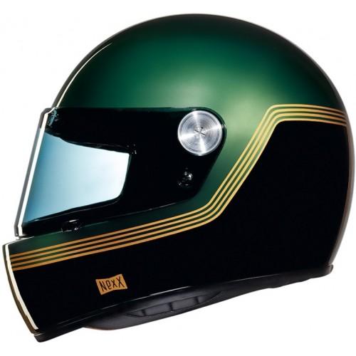 Nexx X.G100R Motordrome Green Helmet