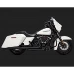 Vance & Hines Daytona 400 Slip-ons Black Exhaust For Harley Davidson Touring 2017 Part # 46583
